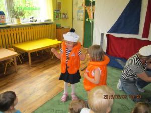 Dzień Żeglarski w przedszkolu 1